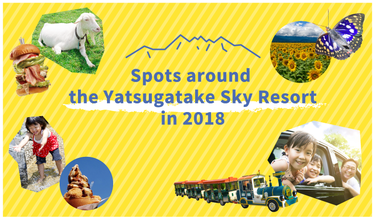 Spots around the Yatsugatake Sky Resort in 2018
